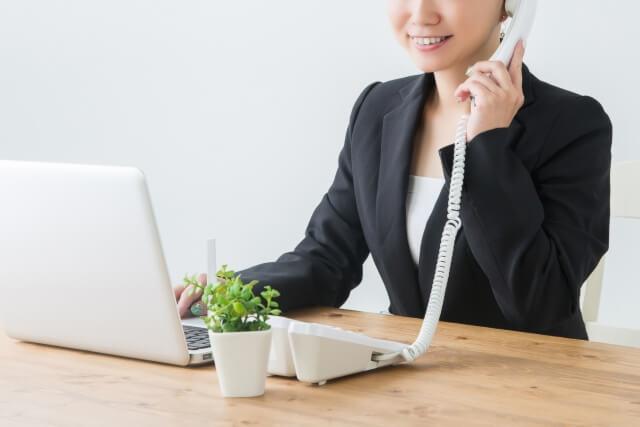 電話 問合せ 通信教育 オペレーター
