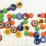 思考力特化コース ぐんぐんワーク 幼児教育 家庭教育 歯車 数学 知育玩具 プログラミング